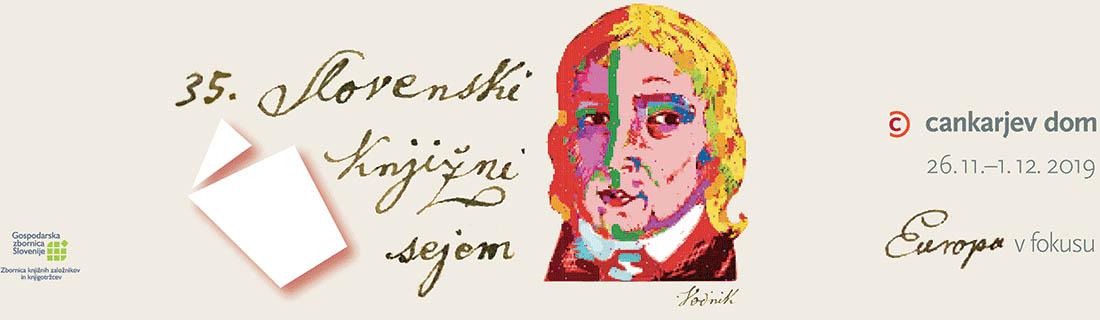35. slovenski knjižni sejem logo